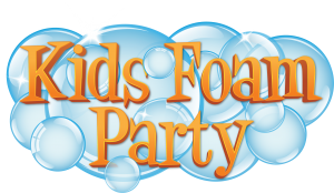 Kids Foam Party Logo